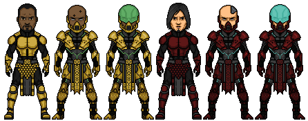 Cyrax and Sektor Redes...