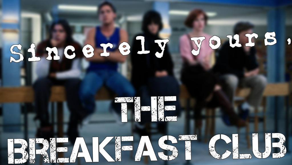 The breakfast club essay meaning