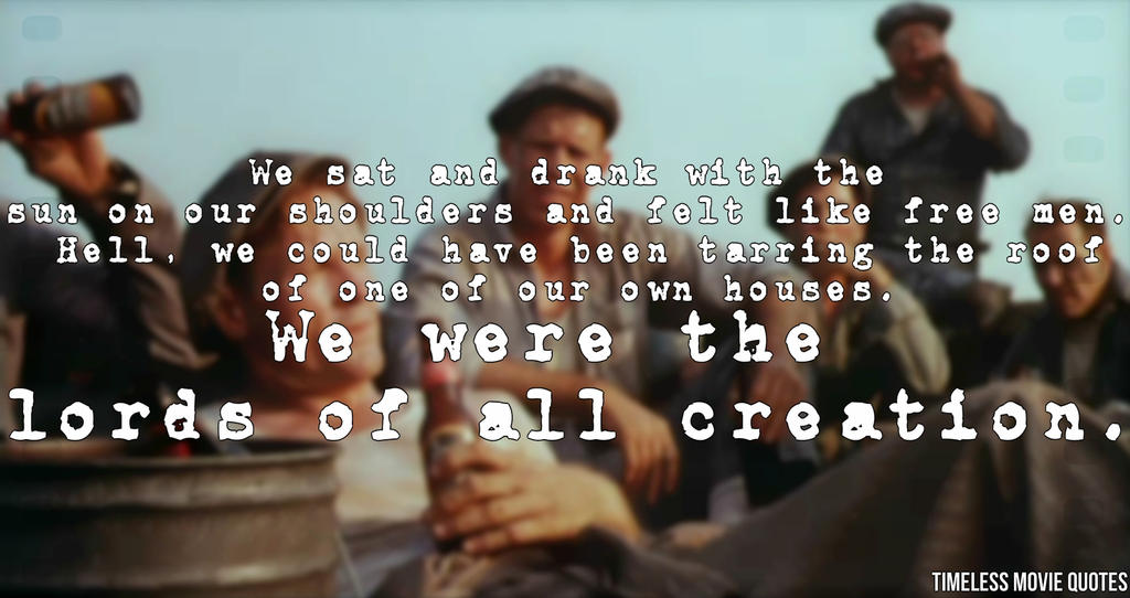 Timeless Movie Quotes The Shawshank Redemption By