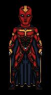 Red Tornado Redesign by Melciah1791