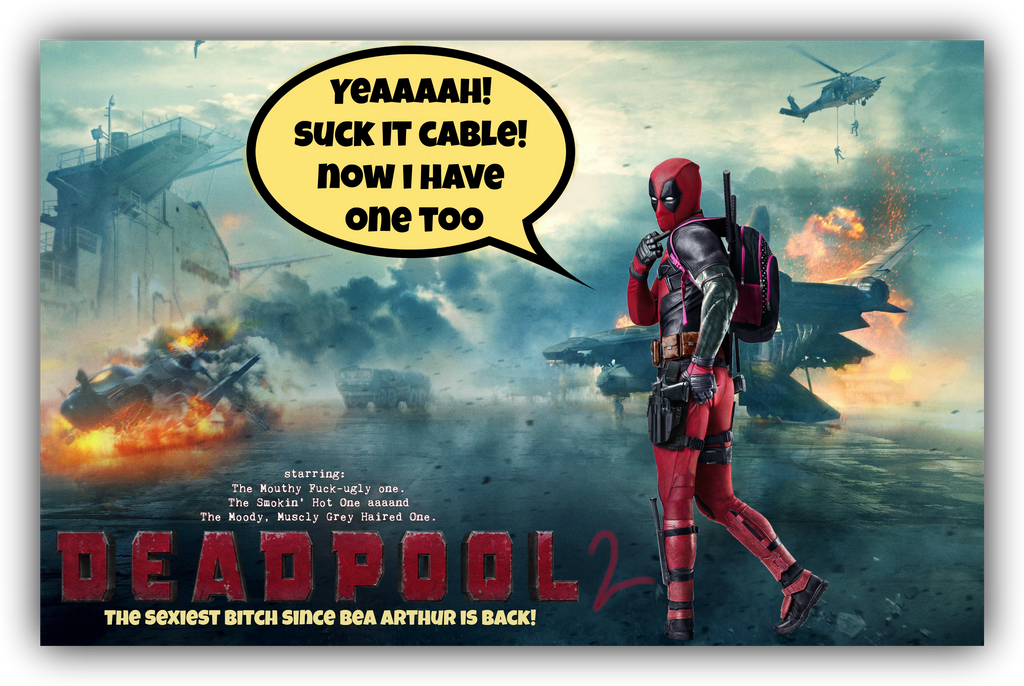 Deadpool 2 Movie Poster by Melciah1791 on DeviantArt