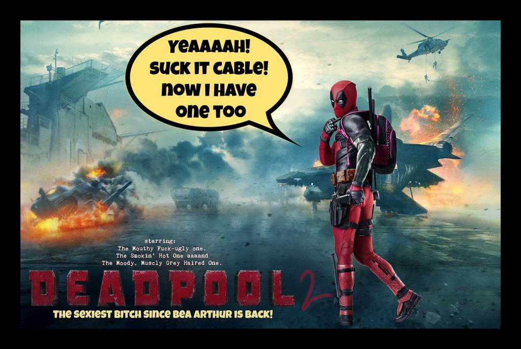 Deadpool 2 Movie Poster by Melciah1791 on DeviantArt
