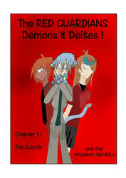 RED GUARDIANS Demons Deities Chapter 1 Cover Page by ZorrieInuyama