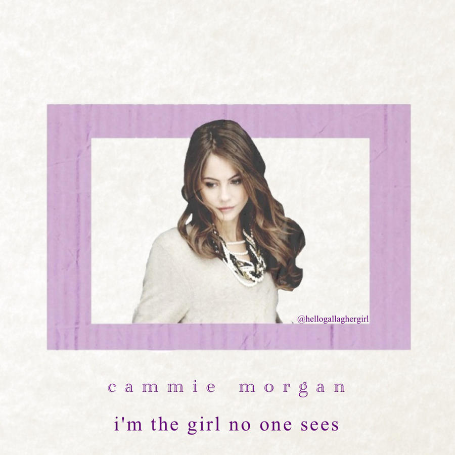 Cammie Morgan The Girl Who No One Sees By