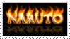 Naruto Fire Text Stamp by OmegaDemonFox