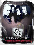 A.F.I. Concert Poster by approachthebottle