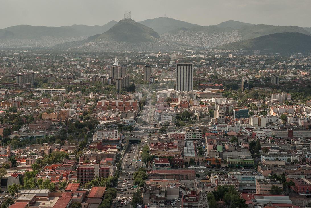 The City 1. CDMX by FernieSilva