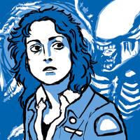 Movie Characters: Ripley by Slepnir