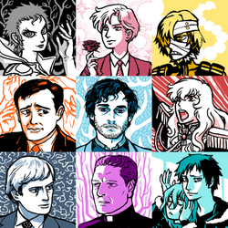 Favourite Television Characters Part 2 by Slepnir