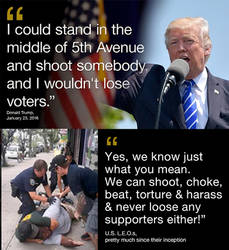 Trump and Cops have this in common by 1hope