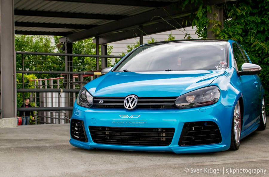 vw golf 6 r hell energy tuning night 2015 by sjkphotography on deviantart. Black Bedroom Furniture Sets. Home Design Ideas
