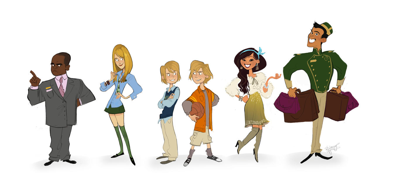 Character Design Zach : The suite life of zach and cody by britt on deviantart