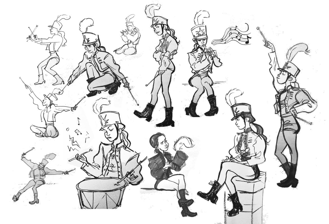 Character Design From Life Drawing : Calarts life drawing by britt on deviantart