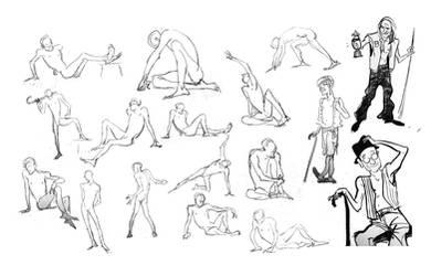 CalArts Life drawing 3