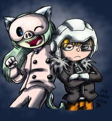 Art Trade-Pig Masks r Cute by Nintendo-Nut1
