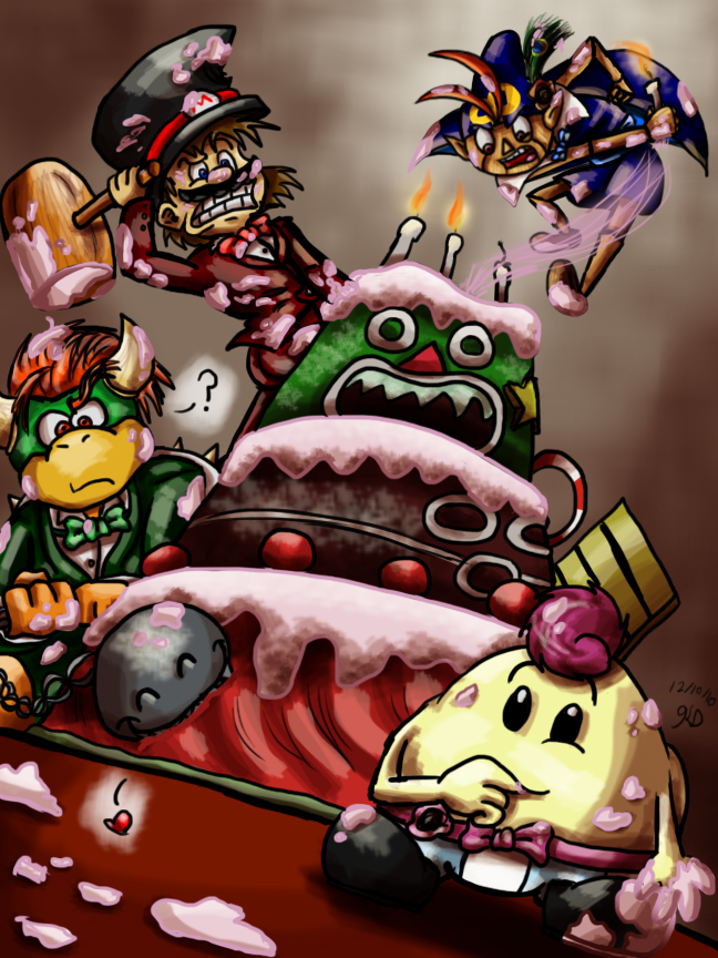 Zee Cake Is Moving Super Mario Rpg