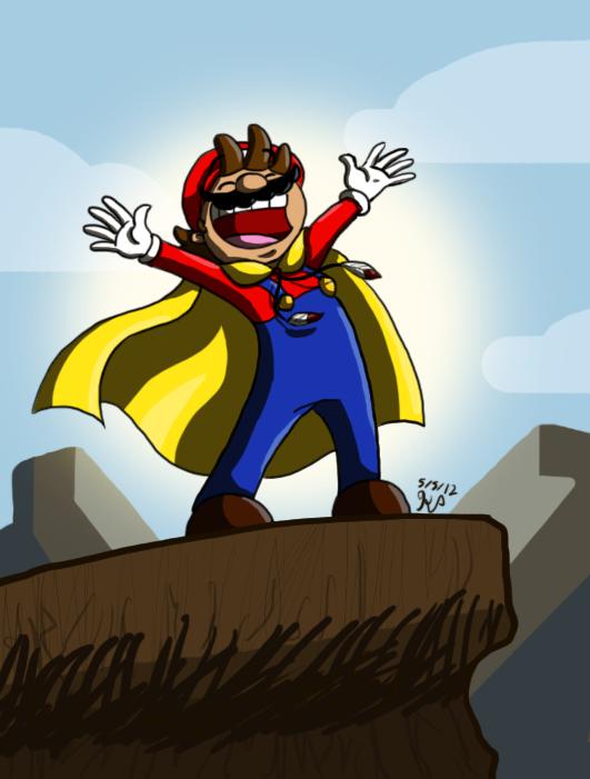 Cape Mario by Nintendo-Nut1