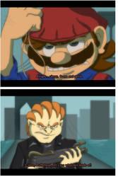 SMB Screencap: On the Bridge by Nintendo-Nut1