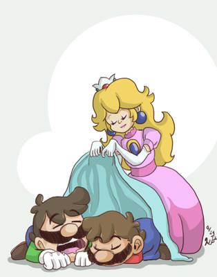 Heroes earn their rest by Nintendo-Nut1