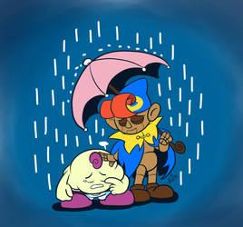 Nostalgic Rain by Nintendo-Nut1