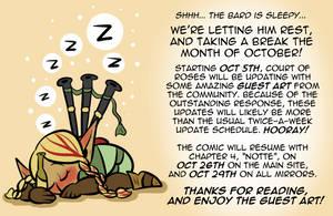 Court of Roses - October Break Announcement!