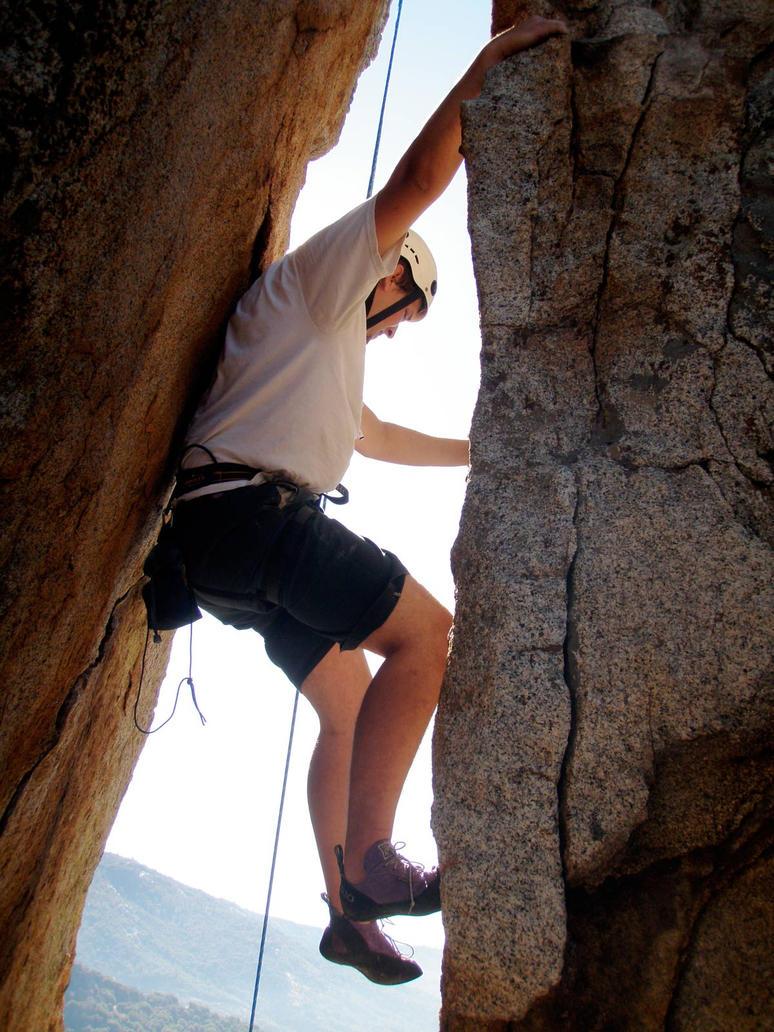 Climbing by Jeddaka