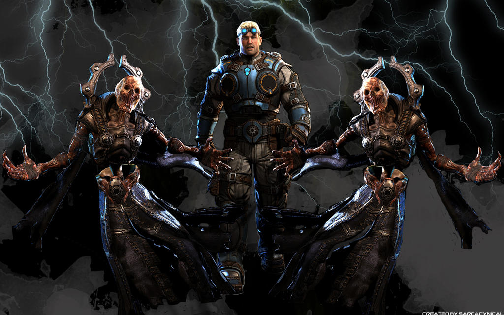 gears of war 3 wallpaper brothers to the end