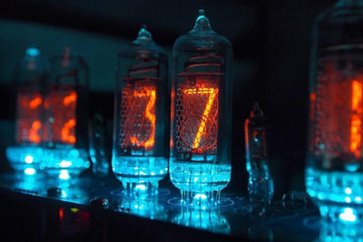 Nixie clock by judge