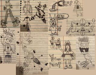 Notebook Drawings 1