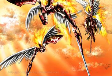 Heaven's Blazing Wrath by Ghostsymphony