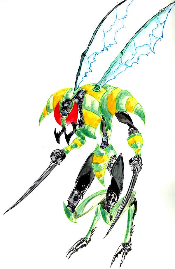 Image Gallery Humanoid Wasp