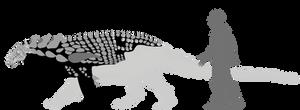 Borealopelta markmitchelli by lythronax-argestes