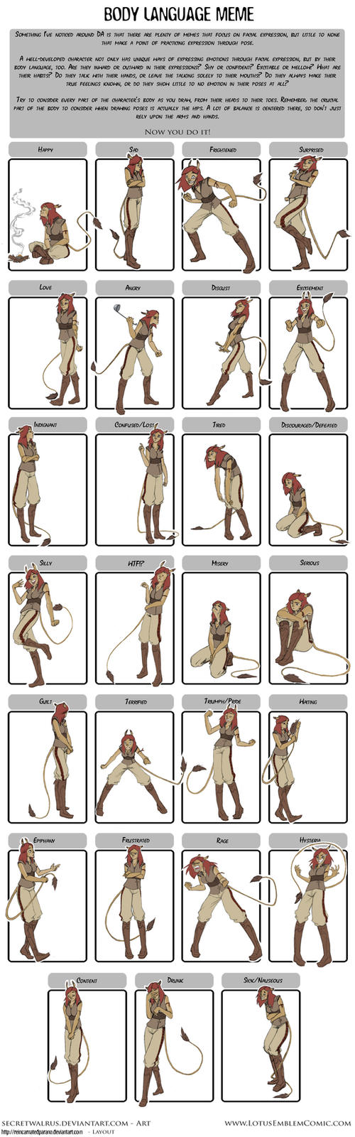 Rowen Pose Expressions by SecretWalrus