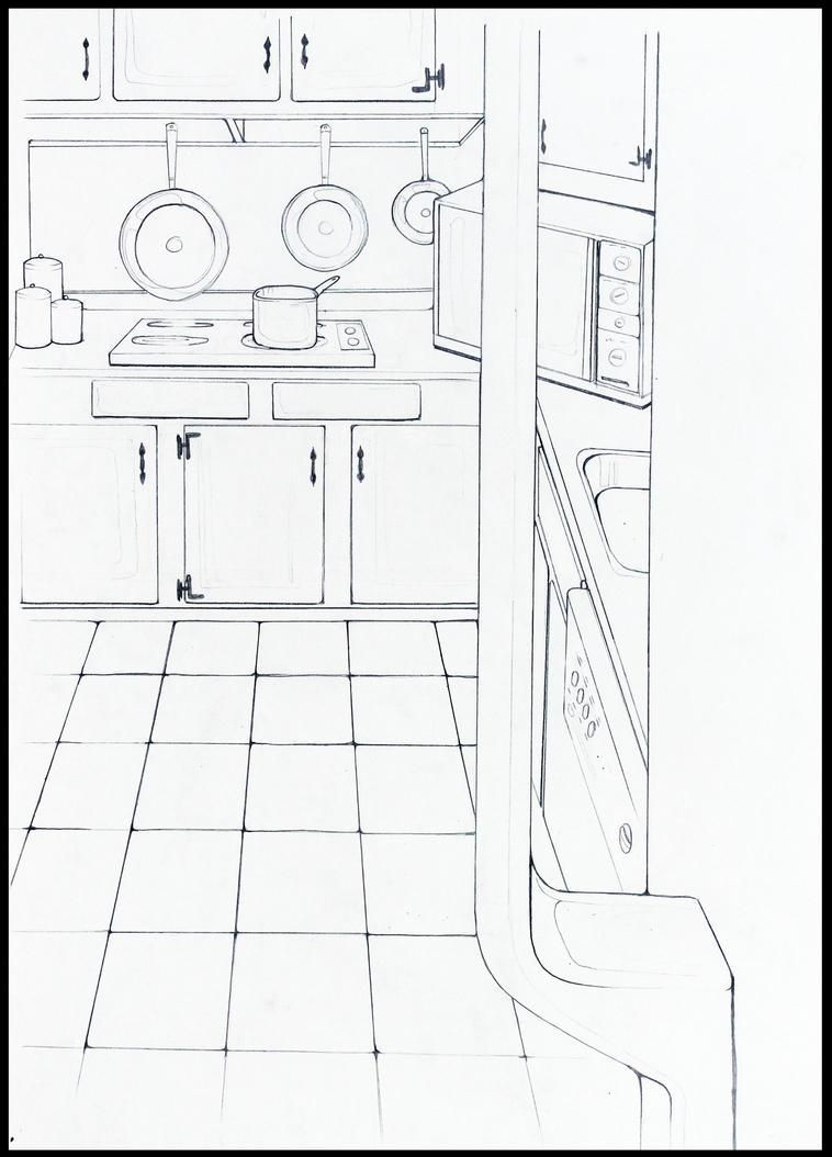 Kitchen by RockyRoni