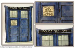 Kindle Sleeve: TARDIS by SongOrSuicide