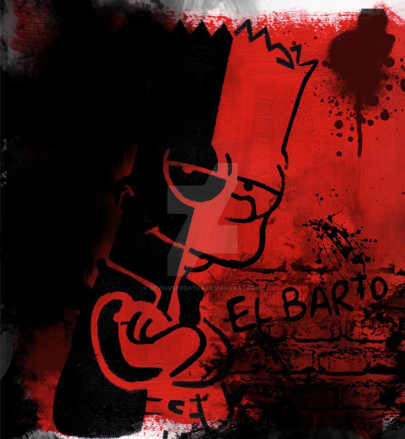El Barto by deviouscreator