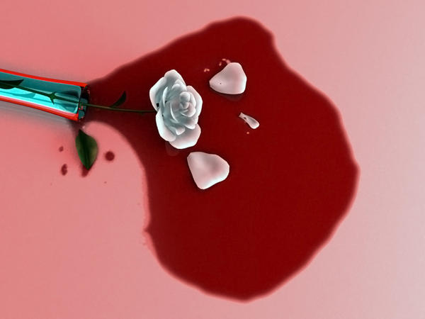 Bloody Rose by ValerieC