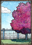 Lovely Purple - ATC