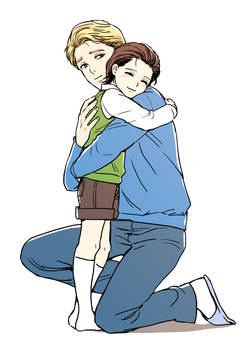 Steve and  young loki