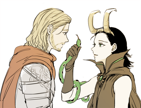 Prince Thor and Witch Loki