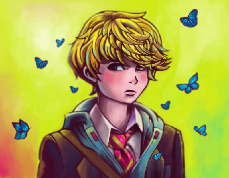 School boy crush by princetLepur