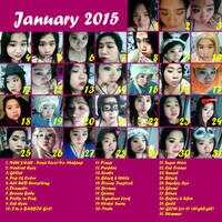 January Make Up Challenge