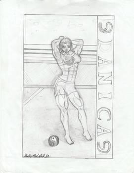 Voluptuous Volleyballer