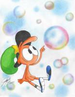 Wander's Bubbles by Pzliu