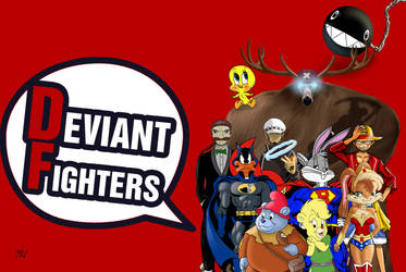 DeviantFighters Crossover Wallpaper