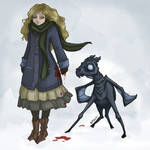 Bloody Luna and Thestral