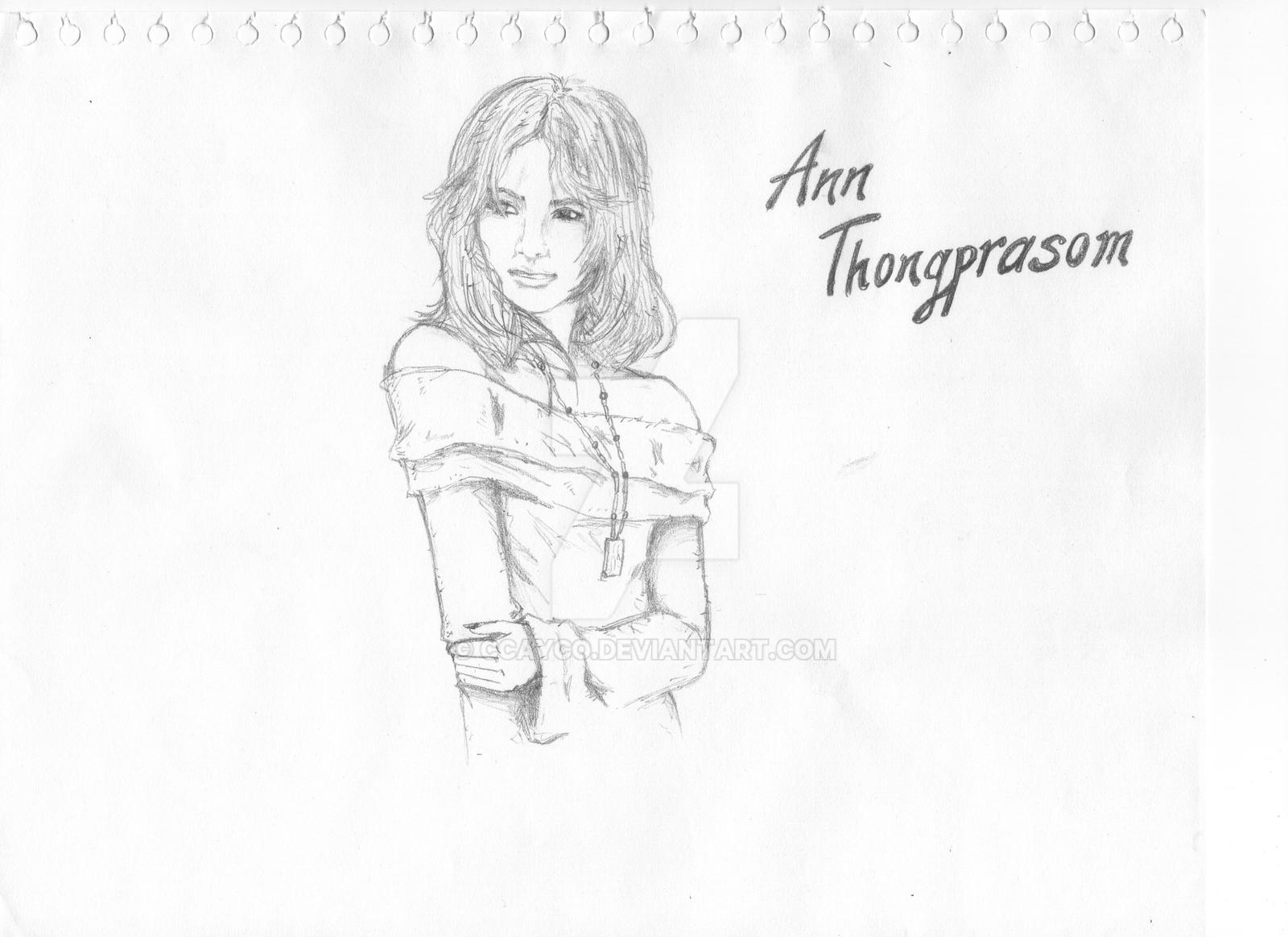 Ann Thongprasom by ccayco