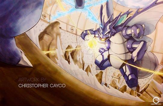 VENOKING - Pokemon Fusion