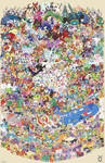 Pokemon Draw Em All (Gen 1 -7)