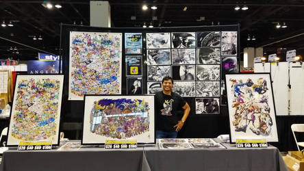 Denver Comic Con Setup